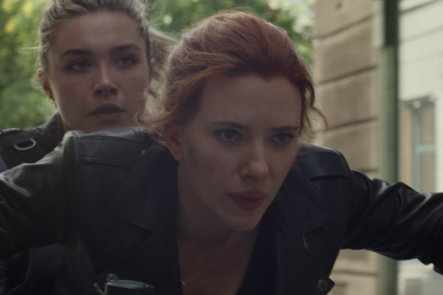La sonrisa de Black Widow deslumbra en nueva fotografía desde el set