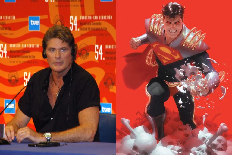 David Hasselhoff será Superman en corto animado de Dark Nights: Death Metal