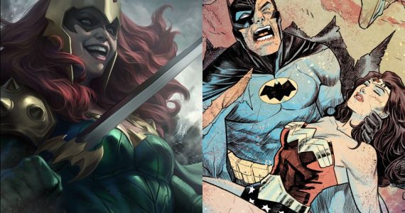 Dark Knights Death Metal: Conoce a Kull, la hija de Batman y Wonder Woman