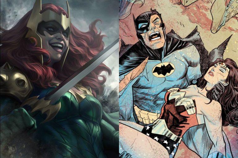Dark Knights Death Metal: Conoce a Kull, la hija de Batman y Wonder Woman