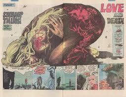 """""""Love and Death"""", en Saga of the Swamp Thing Vol. 2 #29 (1984), cuentos de terror"""