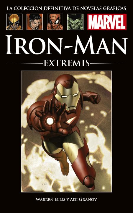 La Colección Definitiva de Novelas Gráficas de Marvel – Iron Man: Extremis