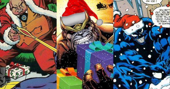 Los villanos de Marvel te desean una Feliz Navidad
