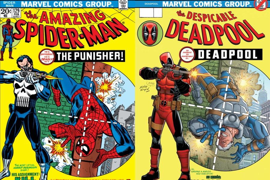 ¡Prepara la cartera! Portada original de Spider-Man y Punisher será subastada