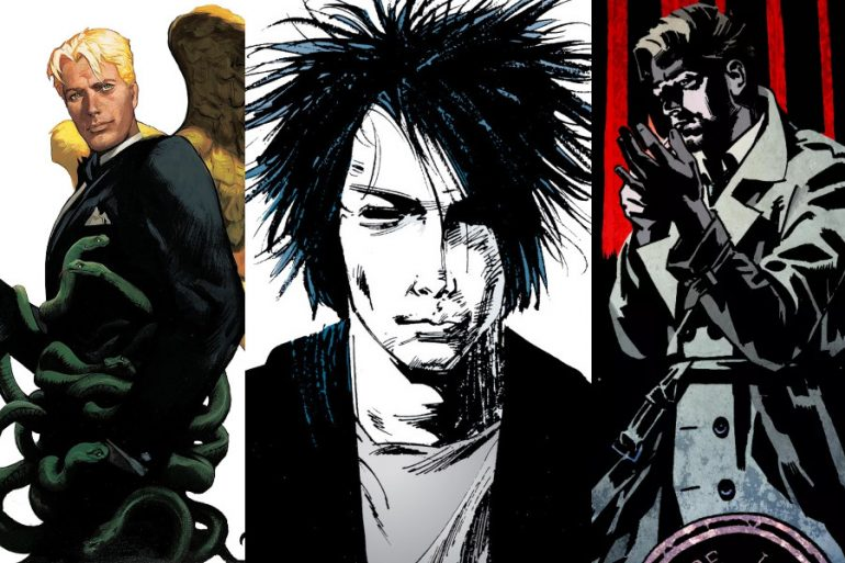 ¿Veremos a Constantine y Lucifer en la serie The Sandman? Neil Gaiman responde