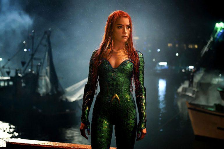 Amber Heard confirma que regresará para Aquaman 2 como Mera