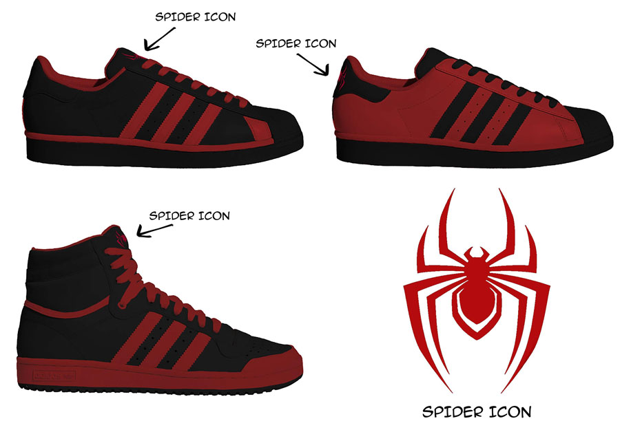 Así son los sneakers de Spider-Man: Miles Morales