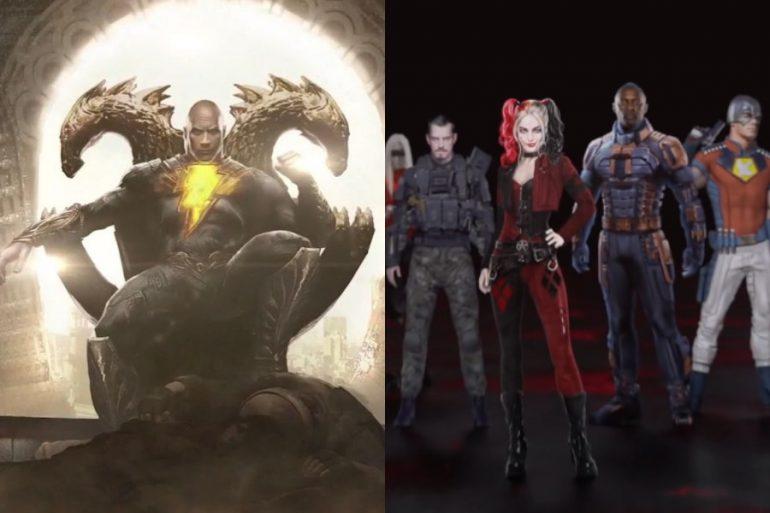 Black Adam habría sido el villano de Suicide Squad 2