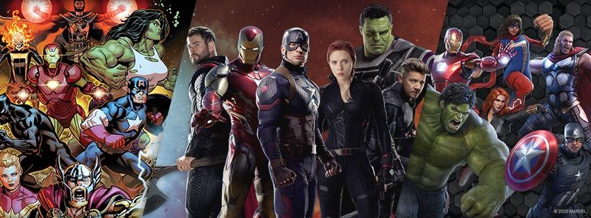 Avengers comics super heroes