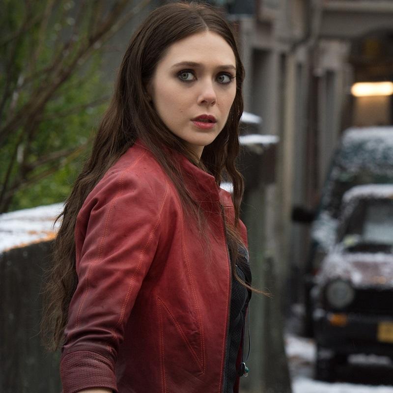 Elizabeth Olsen Avengers Bruja Escarlata Comic