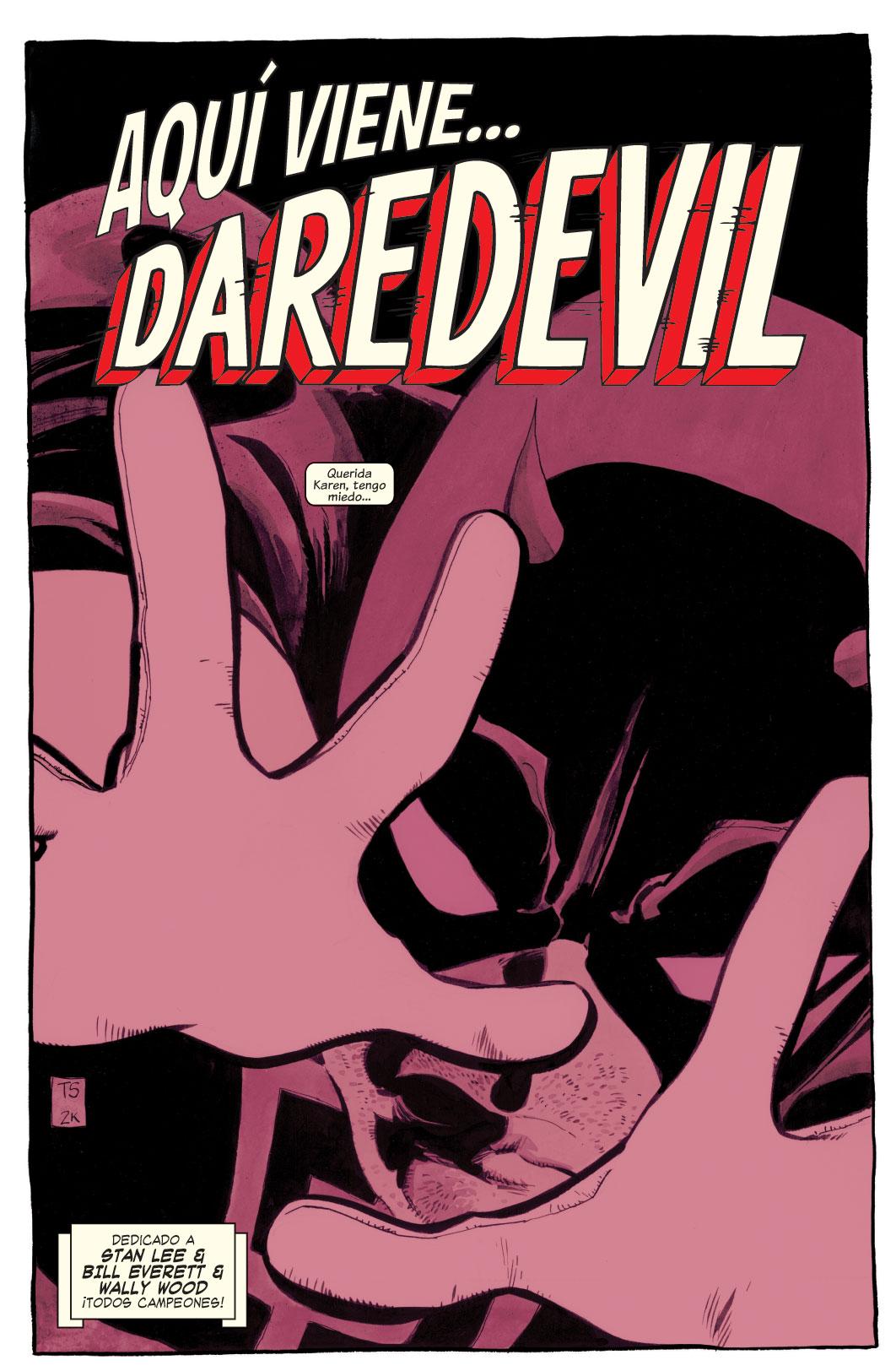 Daredevil: Yellow visto a la distancia