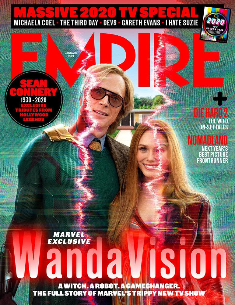 Mira las dos increíbles portadas de WandaVision en Empire Magazine