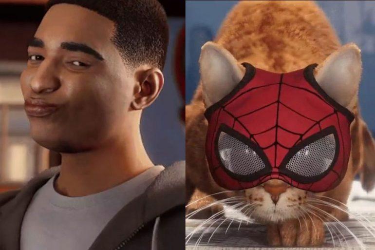 Recrean un meme clásico con Miles Morales y Spider-Cat