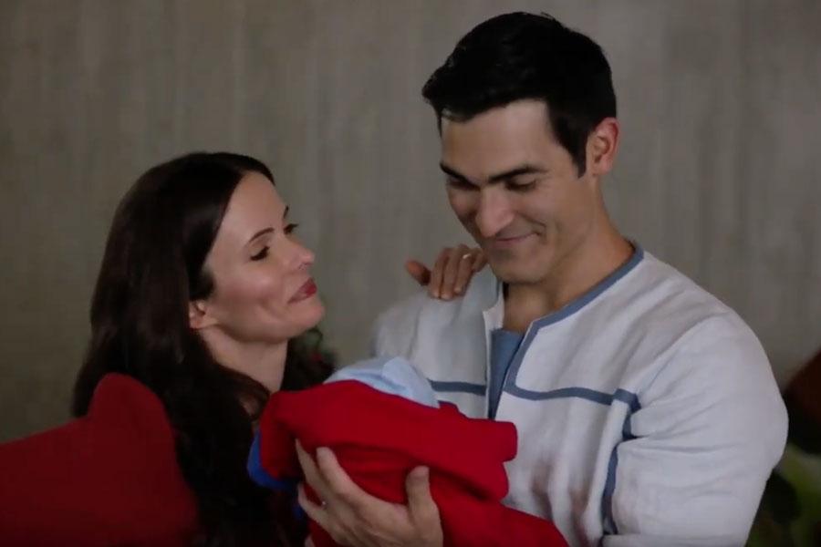 Ellos son Jonathan y Jordan Kent, los hijos gemelos de Superman and Lois