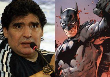 El día en que Batman y Maradona se unieron por una buena causa