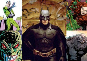 Top 5: Los villanos de Batman que pudieron llegar a la trilogía de Christopher Nolan