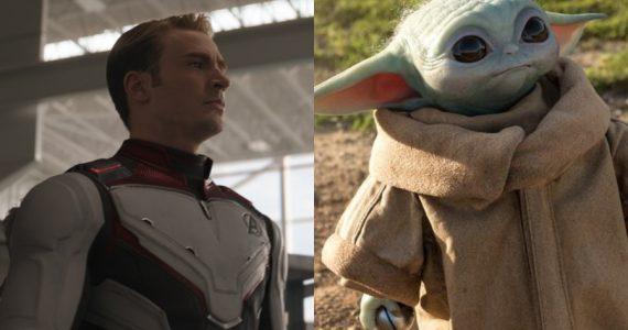 ¿Son iguales? En redes comparan fotos de Chris Evans y Baby Yoda
