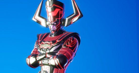 Así es el aspecto de Galactus para el final de temporada de Fortnite