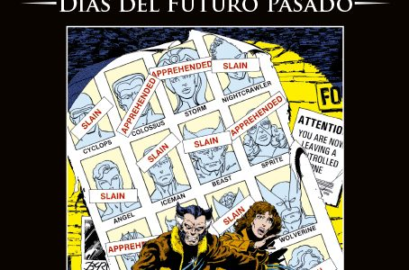 La Colección Definitiva de Novelas Gráficas de Marvel – Uncanny X-Men: Días del Futuro Pasado