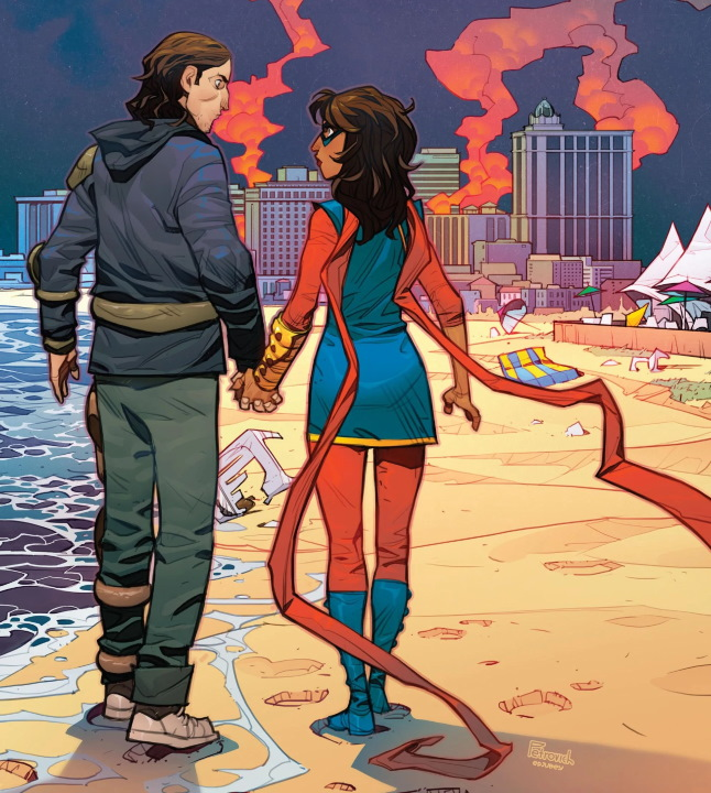 La serie Ms. Marvel habría encontrado a su Bruno Carrelli