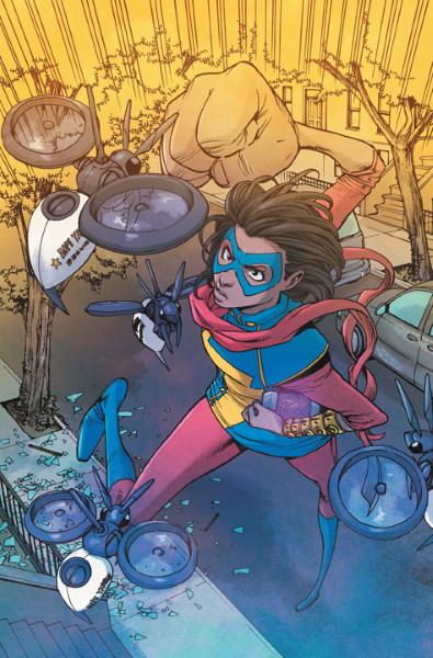 Primeras imágenes de Iman Vellani en el set de Ms. Marvel