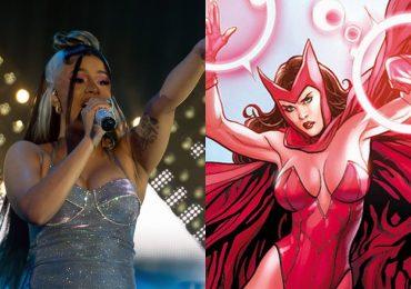 Cardi B sorprende en redes con su cosplay de Scarlet Witch