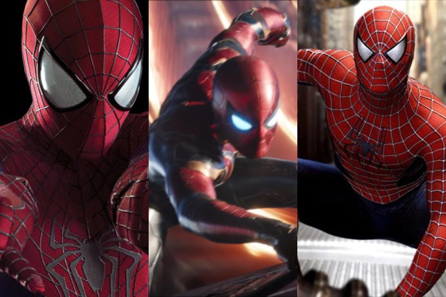 Así luciría el poster de Spider-Man 3 con Maguire, Garfield y Holland