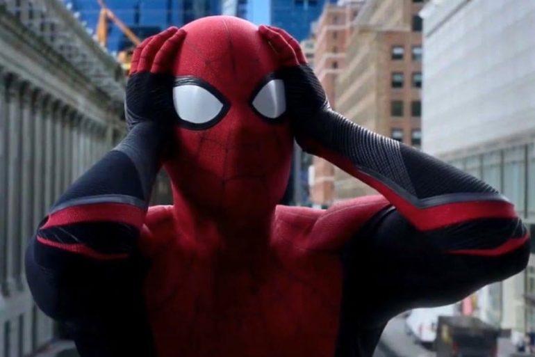 Foto: Tom Holland 'sufre' en la filmación de Spider-Man 3