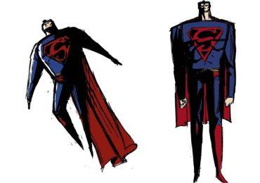Creador de Samurai Jack comparte su boceto rechazado de Superman