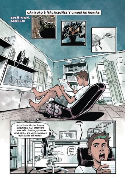 Kami García y Gabriel Picolo ante el reto de crear Teen Titans: Chico Bestia