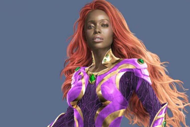 ¡El poder de Starfire se desata en nuevas imágenes oficiales!