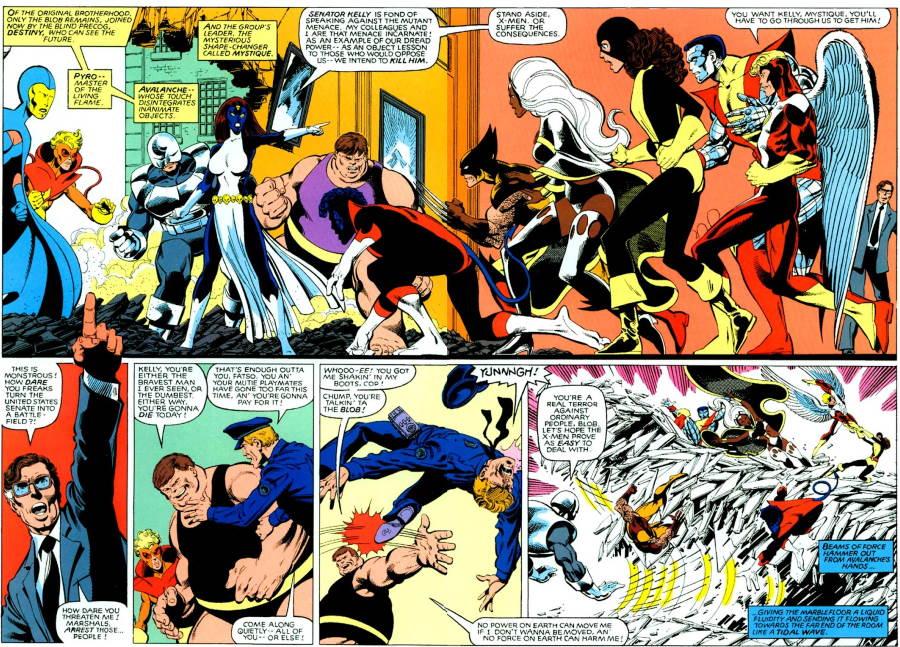Una de las historias más importantes de los Mutantes