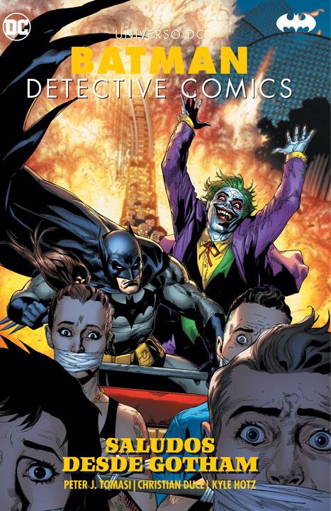 Universo DC – Batman Detective Comics: Saludos desde Gotham