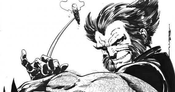 El arte original de Wolverine sin máscara no se parece al Logan que conoces