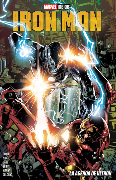 Marvel Básicos – Iron Man: La agenda de Ultron