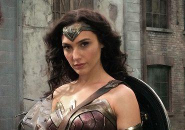 La primera foto de Gal Gadot como Wonder Woman en el set de filmación