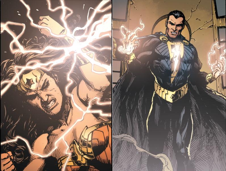 ¿Wonder Woman estará en la pelicula de Black Adam?