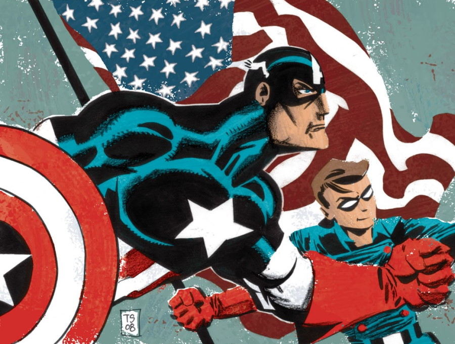 Jeph Loeb y Tim Sale añaden color a Captain America: White