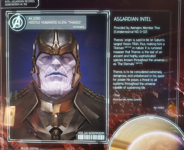 Así se conectará Thanos a la historia de Eternals