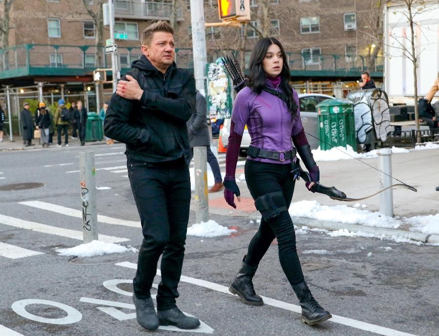 Hawkeye: primer vistazo a Hailee Steinfeld con el disfraz de Kate Bishop