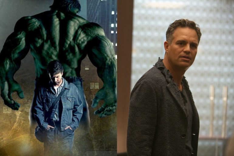 De Edward Norton a Mark Ruffalo: La transición de Hulk en el MCU