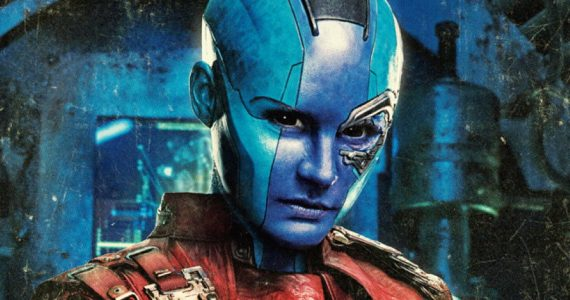 James Gunn comparte una foto inédita de ¿Nebula? en Guardians of the Galaxy