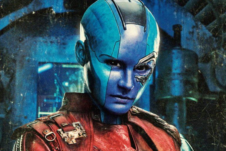 James Gunn comparte una foto inédita de ¿Nebula? en Guardians of the Galaxy