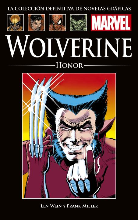 La Colección Definitiva de Novelas Gráficas de Marvel – Wolverine: Honor
