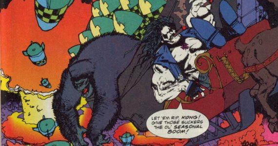 Lobo te desea la más extrema navidad en DC Comics