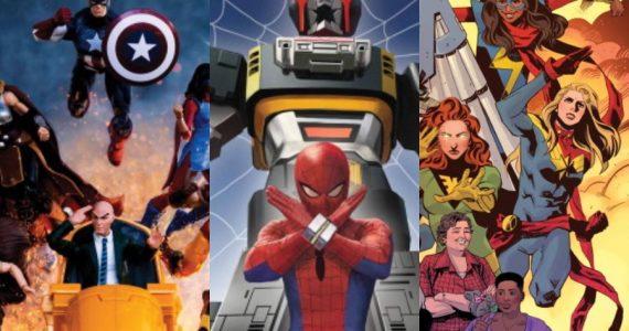 Disfruta los artes de los capítulos del documental Marvel 616