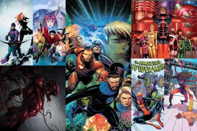 ¡Consulta algunos de los lanzamientos de SMASH y Marvel Comics México en 2021!