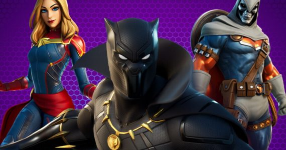 Captain Marvel, Black Panther y Taskmaster se suman a Fortnite
