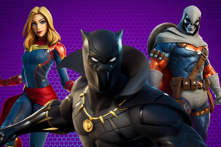 Captain Marvel, Black Panther y Taskmaster se suman a Fortnite