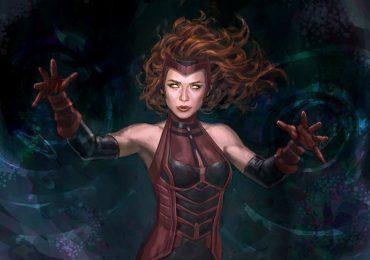 Así fue el primer arte conceptual de Scarlet Witch para Marvel Studios